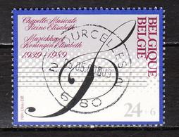 2344  Chapelle Musicale Reine Elisabeth - Bonne Valeur - Oblit. Centrale - LOOK!!!! - Gebruikt