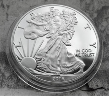 Pièce LIBERTY EAGLES ONE DOLLAR 2018 / 1 Oz TROY 31 G Argent Fine Silver Neuve - Sin Clasificación