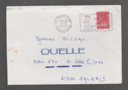 Flamme Dpt 37 : TOURS Gare (SCOTEM N°  3765 Du 12/05 => 06/07/1975) : 12èmes Fêtes Musicales En Touraine - Juillet 1975 - Annullamenti Meccanici (pubblicitari)