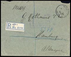 1922, Palästina, 30 U. 31 (3), Brief - Palestina