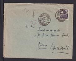 1919 - Brief Ab Zehlendorf Nach Dillkreis - US-Zensur - Covers & Documents