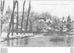 VIERZON SOUS LA NEIGE LE DEVERSOIR 1920 TBE - Vierzon