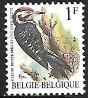 Belgium - MNH ** 1990  :  Lesser Spotted Woodpecker  -  Dryobates Minor - Spechten En Klimvogels
