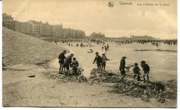 CPA - Carte Postale  - Belgique - Ostende - Jeux D'Enfants Sur La Plage  (AT17462) - Oostende