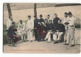 L' INFIRMERIE PLATRAGE ELD Caserne Régiment Les Plaisirs De La Couleur TBE E LE DELEY Paris - Barracks