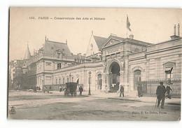 132 ELD Précurseur Le CONSERVATOIRE Des Arts Et Métiers 292 Rue Saint Martin 75003 Paris En 1908  E LE DELEY - District 03