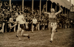 1930 STADE FEMINA MATCH FEMININ FRANCE JAPON  AGENCE ROL 18*12CM LOPEN RUNNING COURSE Athlétisme - Sport