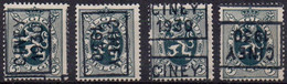 PO5746A/B/C/D CINEY 1930 - Roller Precancels 1930-..