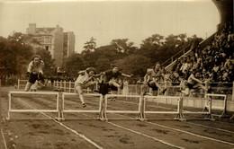 1930 STADE JEAN BOUIN CHAMPIONNAT DE FRANCE ATHLETISME FEMININ COMBERNOUX OLYMPIQU AGENCE ROL 18*12CM RUNNING Athlétisme - Sport