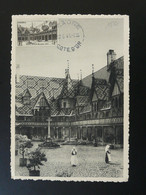 Carte Maximum Card Hotel Dieu Hospices De Beaune 21 Cote D'Or 1941 - 1940-49