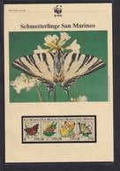 "1993  San Marino  WWF  ""Schmetterlinge San Marinos""  Komplettes Kapitel - Collections, Lots & Series"