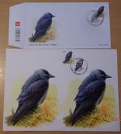 A.Buzin 3625 Kauw FDC, Blanco En Gestempelde Te Wetteren Spotprijs.......... - 1985-.. Vogels (Buzin)