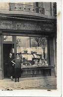"""A/264      75       Paris   Carte Photo 1927    Lingerie-bonneterie  """" Au Mimosa""""  Madame Hugonet Rue Du Cherche Midi - Other"""
