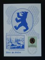 Carte Maximum Card Armoiries Coat Of Arms Ours Bear Liechtenstein 1970 - Maximumkaarten