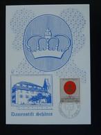 Carte Maximum Card Armoiries Coat Of Arms Liechtenstein 1970 - Maximumkaarten