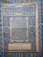 LE TOUR DU MONDE 10/08/1895 AFRIQUE ZOMBA MILANJE CHIRE ECOSSE SCONE PERTH TAY BIRNAM PHILADELPHIE PONT AUDEMER - 1850 - 1899