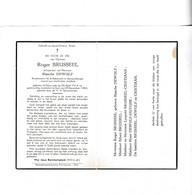 §  RIJKSWACHTER R.BRUSSEEL °DIKSMUIDE 1914 +GENT 1954 (B.DEWULF) - Devotion Images