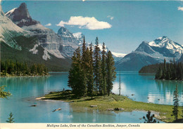 CPSM Maligne Lake,Gem Of The Canadian Rockies,Jasper    L748 - Jasper