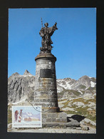 Carte Maximum Card Grand Saint Bernard Suisse 1989 - Cartes-Maximum (CM)