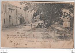 MONTREAL DU GERS LE FOIRAIL ET LA BASCULE PRECURSEUR 1902 - Andere Gemeenten