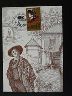 Carte Maximum Card Aristide Bruant Courtenay 45 Loiret 1990 - Cantantes