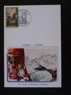 Carte Maximum Card Résistance Maquis Oradour Sur Glane 87 Haute Vienne 1994 - WO2