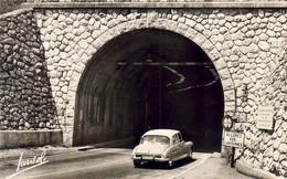 D73  YENNE  Le Tunnel Du Mont Du Chat   ............  Avec DS19 Citroën - Yenne