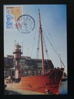 Carte Maximum Card Bateau-feu Port De Dunkerque 59 Nord 1998 - Boten
