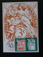 Carte Maximum Card Type Blanc Journée Du Timbre Paris 1998 (timbre De Carnet) - 1990-99