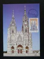 Carte Maximum Card Basilique Notre Dame De L'Epine Gothique Medieval 51 Marne 2003 - Eglises Et Cathédrales