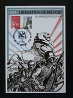 Carte Locale Timbre Personnalisé Marianne De Luquet Libération De Belfort 2004 - WW2 (II Guerra Mundial)