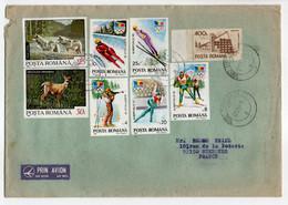 - Lettre TIMISOARA (Roumanie) Pour SURESNES (France) 27.1.1994 - Bel Affranchissement Philatélique - - Lettres & Documents