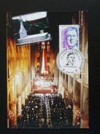 Carte Maximum Card General De Gaulle Obsèques Cathédrale De Paris 2010 - De Gaulle (Generaal)