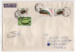 - Lettre Recommandée TIMISOARA (Roumanie) Pour SURESNES (France) 15.1.1997 - Bel Affranchissement Philatélique - - Lettres & Documents