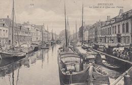 (188)  CPA  Bruxelles  Le Canal Et Le Quai Aux Pierres  (bon état) - Autres