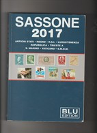Catalogo   SASSONE BLU Dei Francobolli D'Italia E Paesi Italiani 2017,  Usato Come Nuovo - Italia
