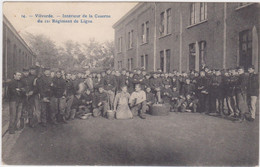 Vilvoorde - 11de Regiment De Ligne (gelopen Kaart Met Zegel) - Vilvoorde