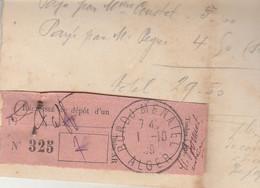 Algérie Récépissé 1/10/1939 BORDJ MENAIEL  Sur Facture Chabrol Greffier Notaire - 2 Scan - Andere