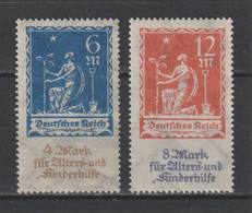 GERMANY REICH 1922 WEIMAR Mi 233-234 MNH ** FULL SET - Nuevos