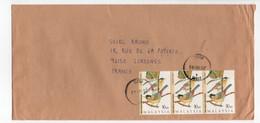 - Lettre TENOM (Malaisie) Pour SURESNES (France) 14.7.1997 - Bel Affranchissement Philatélique - - Malaysia (1964-...)