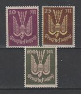 GERMANY REICH 1922 WEIMAR Mi 235-237 MNH ** FULL SET - Nuevos
