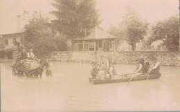 K23 - 74 - BONNEVILLE - Haute-Savoie - Carte Photo - Les Inondations De Bonneville En 1895 - Bonneville