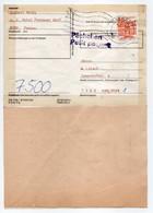 - Lettre PASSAU Pour KARLSRUHE 2.10.1984 - Cachet Päckchen Petit Paquet - - Covers & Documents
