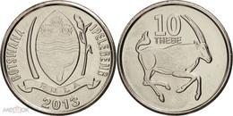 Botswana - 10 Thebe 2013 UNC Roll - Botswana