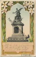 Kempten - Kriegerdenkmal - Verlag Schaar & Dathe Trier Gel. 1901 - Kempten