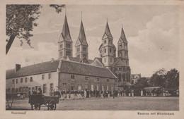 ROERMOND - 1916 - Kazerne Met Munsterkerk - Roermond