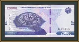 Uzbekistan 20000 Sum 2021 P-88 (88a) UNC New! - Ouzbékistan