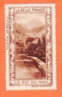 VaS164 ⭐ PIC Du MIDI 65-Htes Pyrénées Pub Chocolat KWATTA Vignette Collection BELLE FRANCE HELIO-VAUGIRARD Erinnophilie - Tourisme (Vignettes)