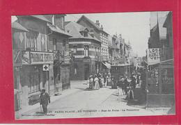 62,- PARIS-PLAGE,- LE TOUQUET - Rue De Paris  Le Tramway - Le Touquet