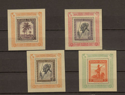 Ruanda - Urundi Ocb Nr :  BL1A - BL4A ** MNH   (zie Scan) RRR COB 1575 - 1948-61: Nuovi